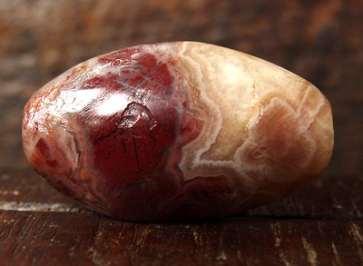 Ancient Jasper/Agate Bead - 27 mm