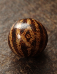 Ancient 12 Stripe Pumtek with Diamond Eyes - 17 mm