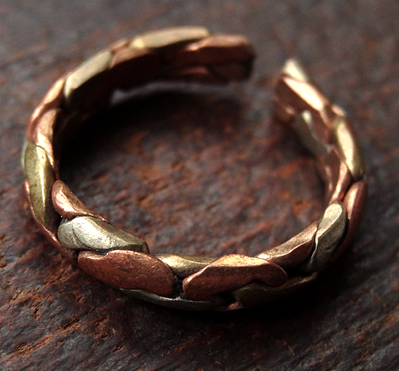Three Metal Ring - One Size