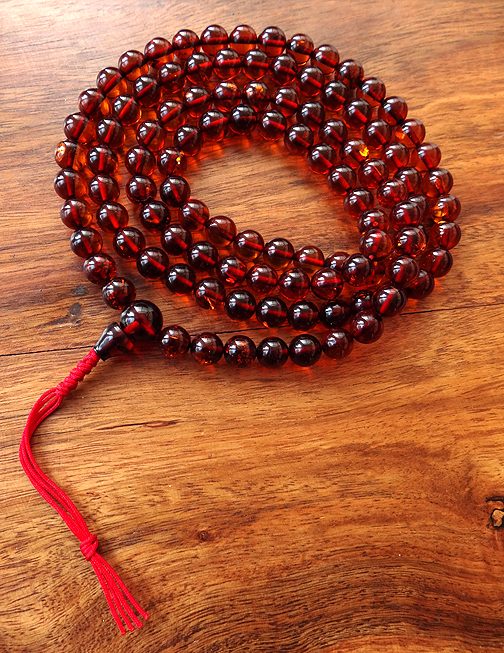 Genuine Amber Mala - 8mm