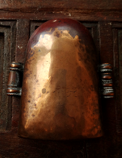 Large Antique Tibetan Copper Gau