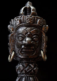 Fine Quality Vajrakilaya Iron Phurba - 7.75 inches