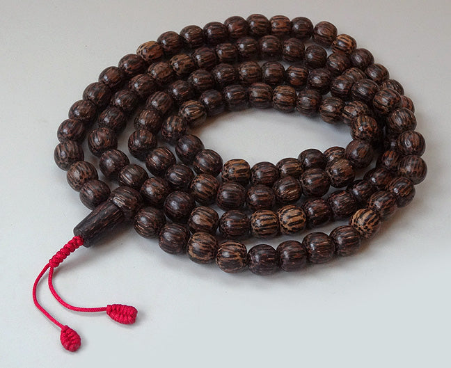 Natural Coconut Shell Mala  - 10mm