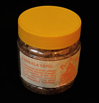 Zambala Sang - Traditional Tibetan Incense Powder - 90 grams