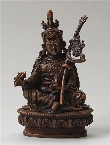 Small Copper Statue of Guru Rinpoche