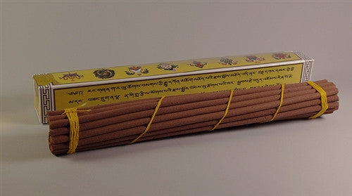 Lopen Tharpola - Kuengacholing Bhutanese Incense - Yellow - Approx 30 sticks