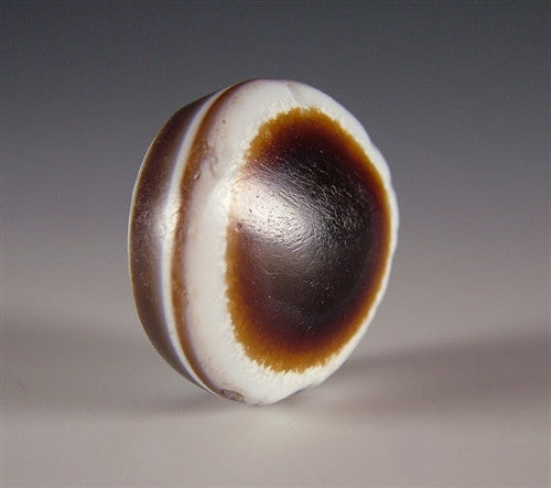 Ancient Luk Mik dZi Bead - 27.5 mm
