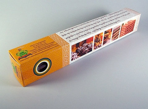 Orange 'B' - Original Nado Poizokhang Bhutanese Incense