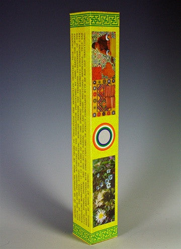 Yellow 'C' - Nado Poizokhang Bhutanese Incense