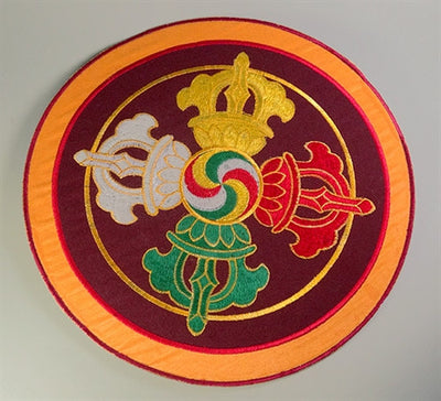 DOUBLE DORJE PUJA TABLE COVER
