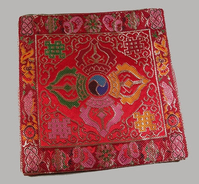 DOUBLE DORJE TABLE COVER for BELL & DORJE - Red