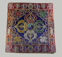 Double Dorje Table Mat for Bell & Dorje - Blue