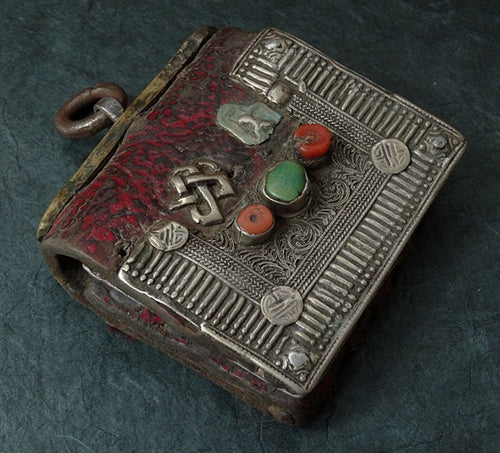 Antique Tibetan Bullet Pouch - 19th C