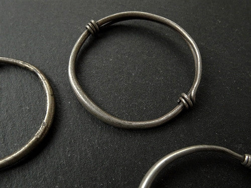 Collection of Four Antique Silver Bracelets - 19th C