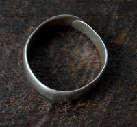Antique Tibetan Silver Ring - 19th C