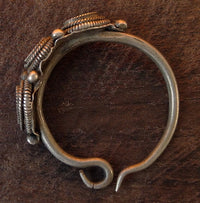 Antique Tibetan Silver Earring