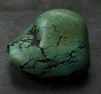 Antique Turquoise Bead - 33.5mm