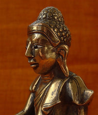 Antique Burmese Buddha Statue - 19th C