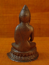 Small Antique Buddha Statue - 19th C