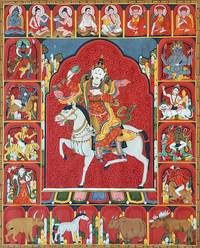 Achi Chokyi Drolma Thangka - Fine Art Thangka Reproduction - by Flera Birmane