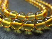 Genuine Amber Mala - Golden Honey - 8mm