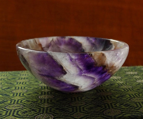 Amethyst Gemstone Bowl - 82.5 mm