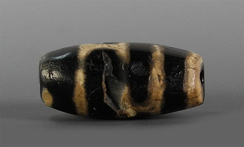 Ancient Phum dZi Bead (with Repair)