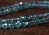 Natural Blue Apatite Strand - 15.5 inches