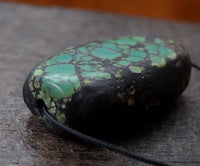 Antique Turquoise Bead - 20mm