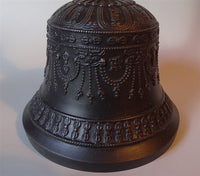 Fine Quality Kirtimukha Bell & Dorje Set - 5 Prong - Dark Finish