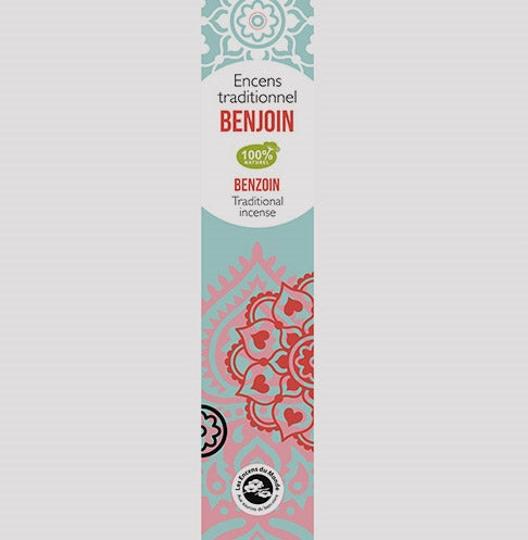 Benzoin Traditional Incense Sticks - Pack of 20