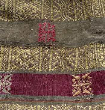 Bhutanese Lama Bag - Antique Style Fabric