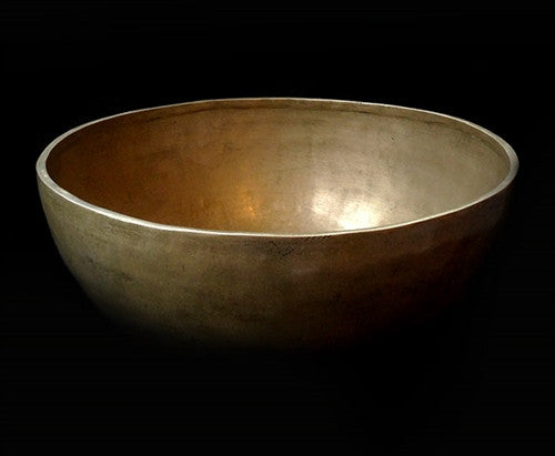 Fine Bronze Alloy Jambati Himalayan Singing Bowl - 10 inches