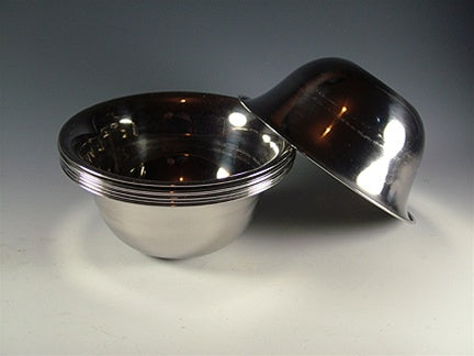 Large Stainless Steel Offering Bowls