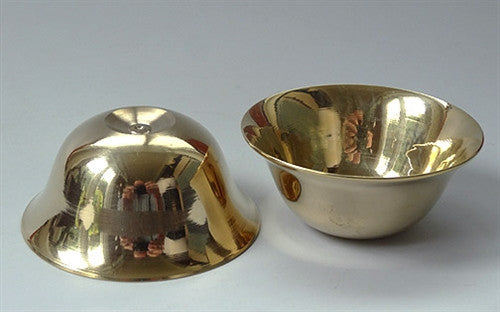 7 Brass Offering Bowls - Standard Size