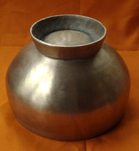Fine Bronze Alloy Naga Himalayan Singing Bowl with raised base - 6.25 inches
