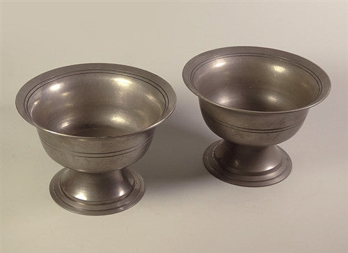 Bronze Alloy (Bell Metal) Raised Offering Bowl Set