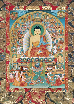 Buddha Shakyamuni Visualisation Card