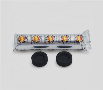 Charcoal Discs for Incense Resin and Sang - Pack of 10 tablets