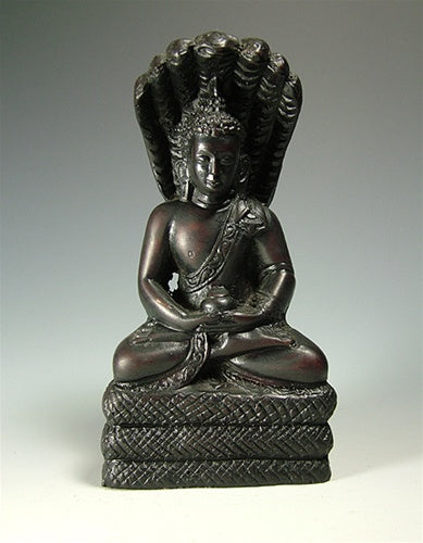 Resin Cobra Buddha Statue