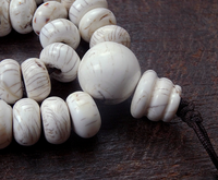 Conch Shell Mala - 14 mm x 8 mm