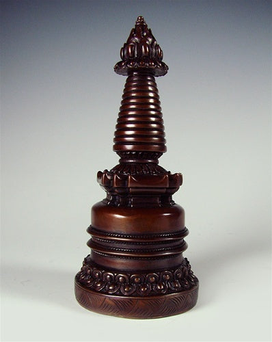 Dark Copper Stupa