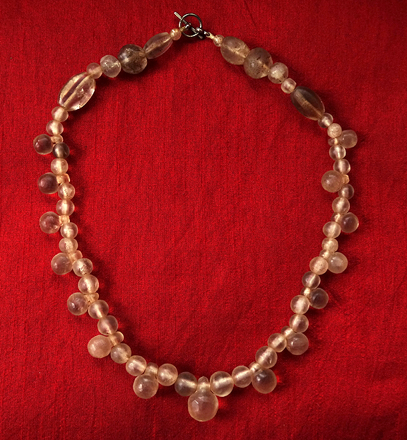 Ancient Rock Crystal Necklace - Western Asiatic