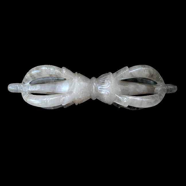Gigantic Himalayan Crystal Vajra - 15.5 inches