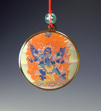 Deity Pendant - 4 Deities or Gurus to Choose from