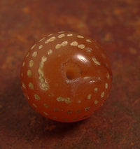 Ancient Decorated Carnelian with Spots
