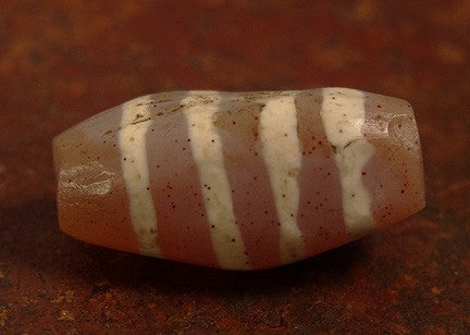 Ancient Decorated Carnelian with Four Stripes