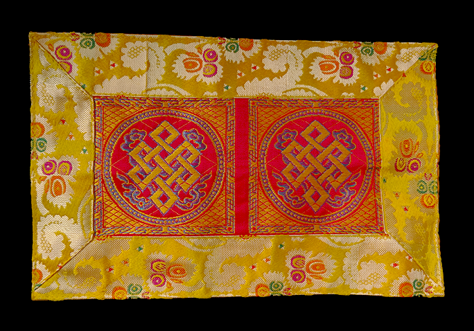 Eternal Knot Puja Table Cover