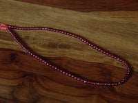 Natural Red Garnet Gemstone Strand - 15 inches
