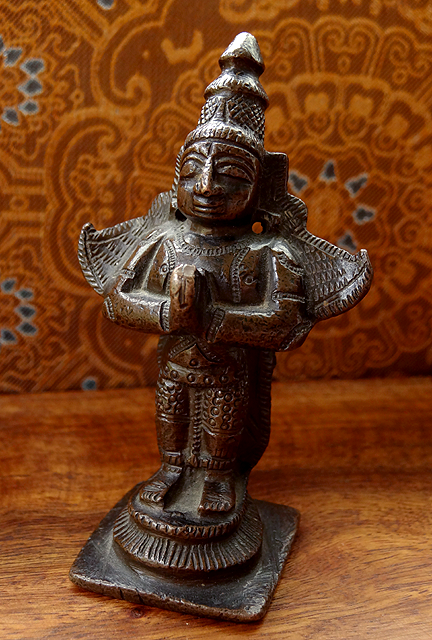 Antique Indian Garuda Statue - 19th C